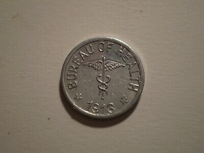 SBY38 Philippines Culion Leper Colony 1913  1/2 centavo. Mintage 17,000