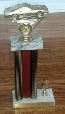 1990 car show trophy Toledo Ohio PONTIAC TRANS AM FIREBIRD/CHEVY CAMERO EMBLEM