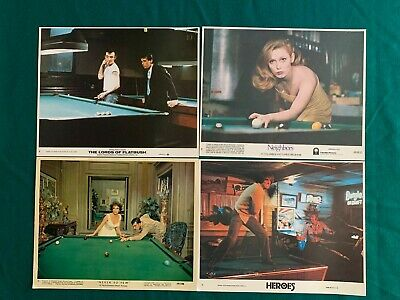 Four Original Pool and Billiard Photos in Color-Only $20.00