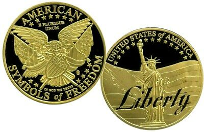 Liberty Symbols Of Freedom Commemorative Coin Proof Value $99.95