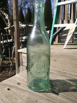 Antique Otto Huber Brewery Brooklyn Beer Bottle
