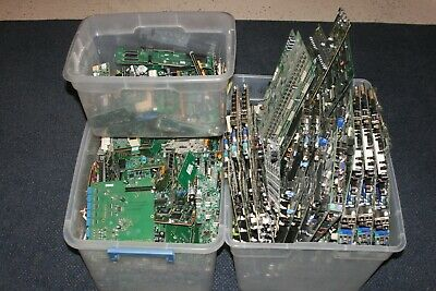 88 lbs Circuit Board Scrap Gold Recovery Server Motherboards Telecom Boards