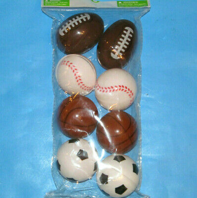 Type Select 1//Pk Happy Easter Sports-Ball X-Large Plastic Fillable Eggs