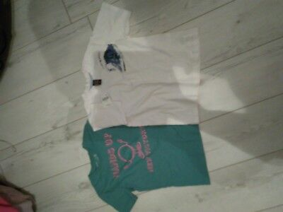 2 Pairs Of  Unque Brand New Top  For Boys From  Next&H&M 5/6Yrs