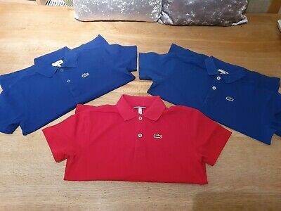 Lacoste Sport Polo Bundle Boys Age 10-12Years Genuine