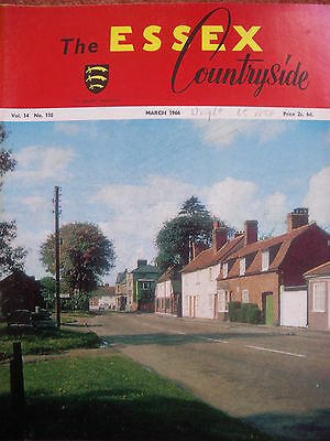 Essex Countryside Vol 14 No 110 March 1966 Stock Church Roman Temple by Stort