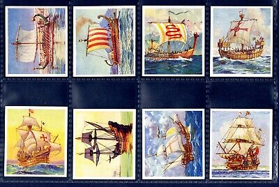 SHIPS THAT HAVE MADE HISTORY (Inc Titanic) - Original 1938 Cigarette Card SET