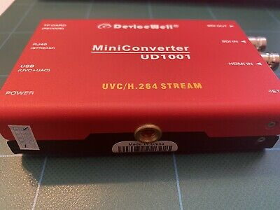 devicewell UD1001 streaming capture box. open box but I tested!