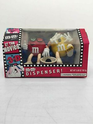 """M&m """"At The Movies"""" In 3 D Manual Candy Dispenser"""