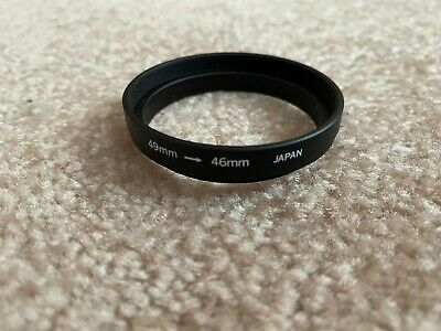 46mm to 49mm Step-Up Ring