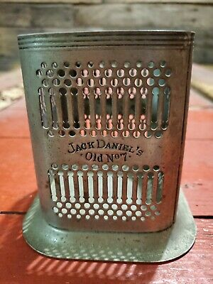 Jack Daniel's Old No.7 Whiskey Silver Plated Boytle Caddy Vintage England
