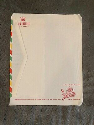 Vintage stationery from the Ghion Imperial hotel, Addis Ababa, Ethiopia