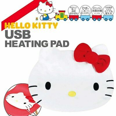 Hello Kitty Warm Cushion Heating Pad USB Power Hot Relax Sanrio Japan A1691