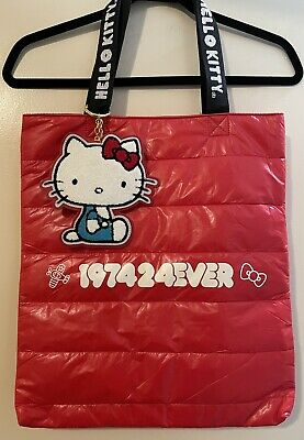NWT Hello Kitty Around The World Red Tote