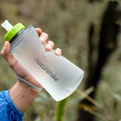 Details about  /2pcs Foldable TPU Sports Water Bottle Hydration Bottle for Running Camping UK