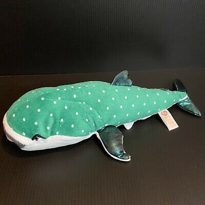"""Details about  /Ty Sparkle Disney Finding Dory Nemo Plush Destiny Green Whale Shark 12/"""" Stuffed"""