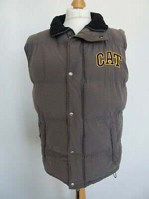 Caterpillar CAT Arctic Zone olive green water resistant insulated bodywarmer