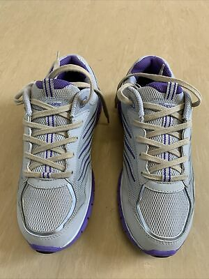 LADIES SIZE 3 4 5 6 7 8 SILVER PEWTER METALLIC LACE UP PLIMSOLL GLAMOUR TRAINER