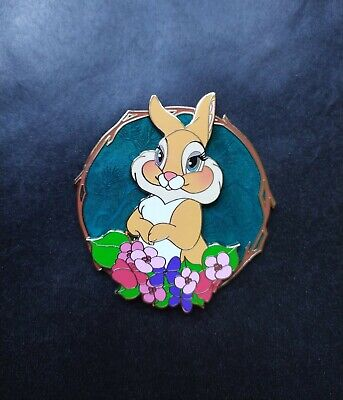 Thumper with a Butterfly on his cheek Details about  /Fantasy Pin Disney Bambi Movie