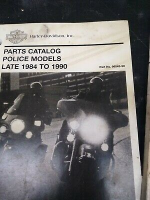 1990 Harley Touring POLICE FLHT FXRP Owner's Owners Owner Manual ...
