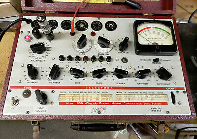 Twin Triode Switch model 7608A Noval 9-pin for Hickok tube testers