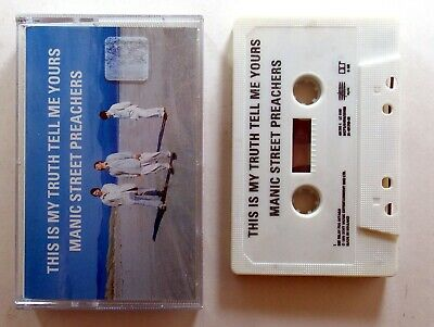 MANIC STREET PREACHERS This Is My Truth Tell Me Yours Original Audio Cassette EX