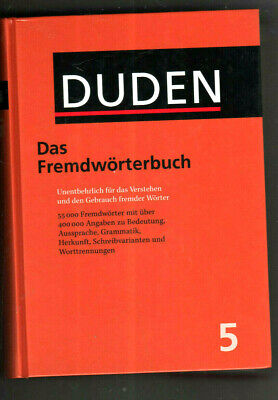 Duden Volume 5 Foreign Dictionary 8th ed.