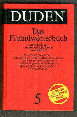 Duden Volume 5 Foreign Dictionary 6th ed.