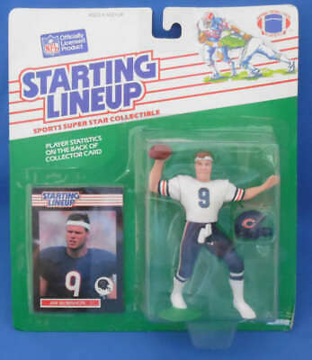 Kenner Starting Lineup Donnell Woolford 1990 avec 1989 ROOKIE CARTE Chicago Bears