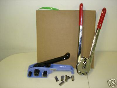 Polyester Strapping Kit W/Tools-Full Size Coil