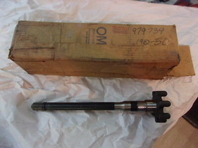 OMC  ball gear and shaft p# 979739 nla vintage NOS