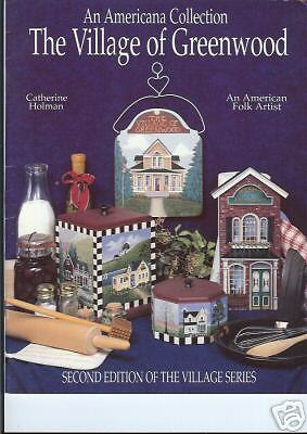 """Catherine Holman: """"The Village Of Greenwood"""" Paint Book"""
