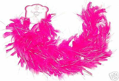 ~*12 Hotpink Feather Boas~Fairy Princess,Tea Party Girl