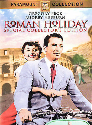1953 Roman Holiday Audrey Hepburn Gregory Peck Classic Romantic Comedy DVD NEW