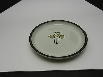 "Denby Kimberly Bread Butter Plate Grey Brown 6 5/8"" D"