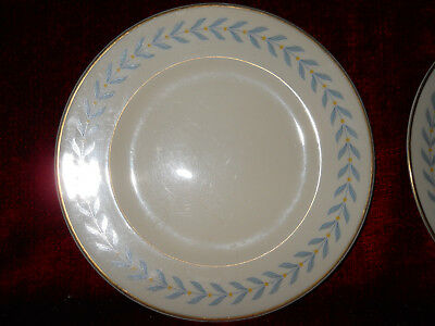 SYRACUSE CHINA SHERWOOD SET OF 2 BREAD PLATES