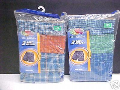 6pr Boy's Fruit of the Loom Boxer Shorts SMALL 6-8