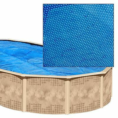 24x12 ft oval swimming pool solar cover