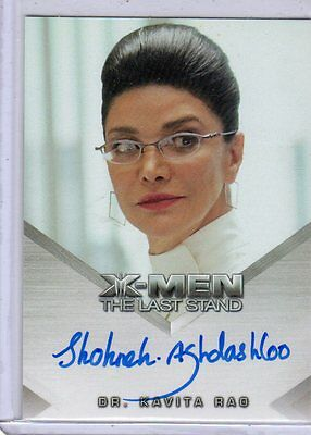 X-Men The Last Stand Shohreh Agdashloo auto card