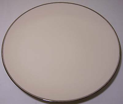 FRANCISCAN POTTERY FINE CHINA PLATINUM BAND BREAD PLATE