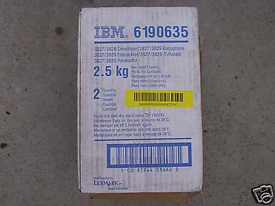 New OEM IBM 6190635 3827 / 3829 Developer Lexmark