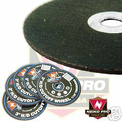 """3"""" Heavy Duty Cut Off Wheel- 1/16"""" Thickness  50 PACK"""