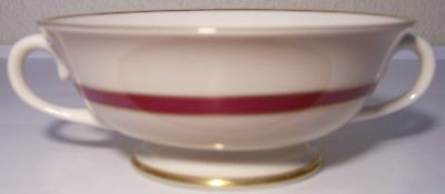 FRANCISCAN POTTERY FINE CHINA LAGUNA CREAM SOUP BOWL!