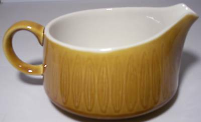 FRANCISCAN DISCOVERY CHINA TOPAZ CREAMER!