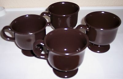FRANCISCAN POTTERY CREOLE SET/4 CUPS!
