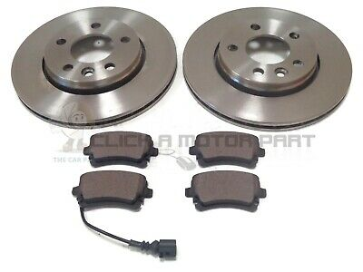 Vw Volkswagen Transporter T5 03-13 Rear 2 Brake Discs & Pads Check Size Choice