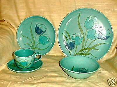 Metlox Tulips Round Cup And Saucer
