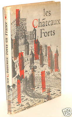 BOOK European Fortification France-les Chateaux Forts op 1958