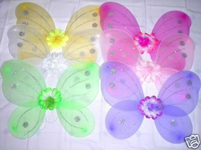 ~*~12 Pretty Butterfly Wings~*~Dress Up Costume
