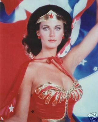 LYNDA CARTER 8x10 Photo SEXY WONDER WOMAN! HOT BOOBS!